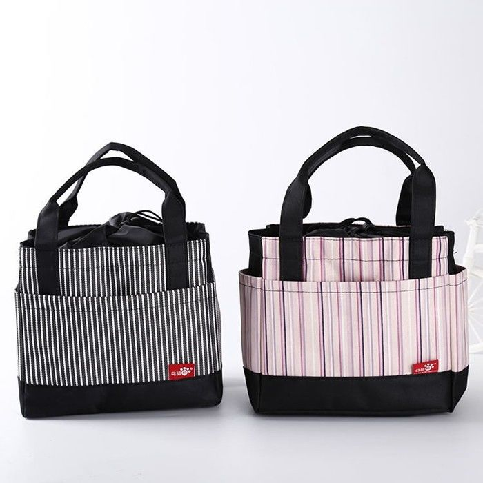 Keep Food Warm Cold Thermal Insulation Foldable Reusable Shopping Bags For Picnic Delivery supplier